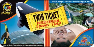 Bilety do parków-LORO PARQUE + SIAM PARK
