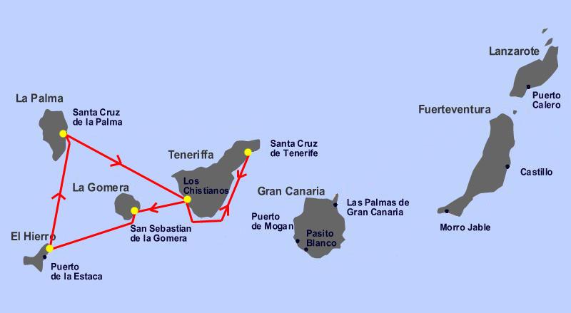 Teneryfa i La Gomera według Totalnej Biologii !!!