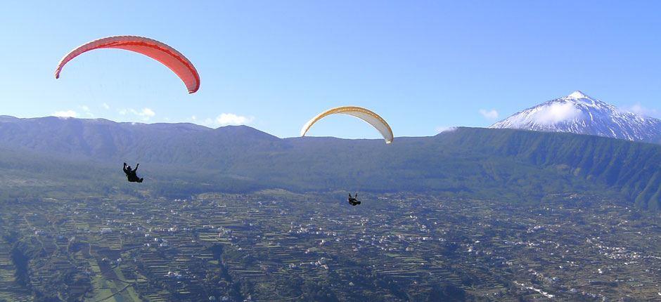 Paragliding na Teneryfie