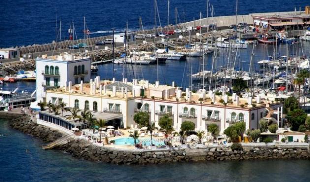 Puerto de mogan przewodnik hiszpania wyspy kanaryjskie - Pension eva puerto de mogan ...